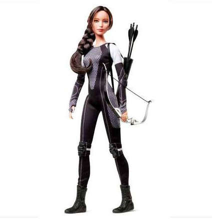 Fantasy Film-Inspired Dolls - Get Ready for Catching Fire with the Katniss Barbie Doll