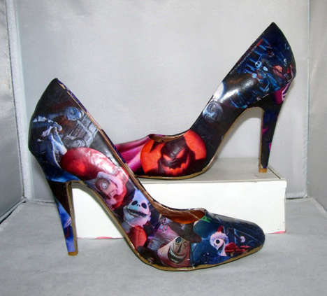 Nightmare Before Christmas Heels