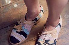 Geology-Inspired Footwear
