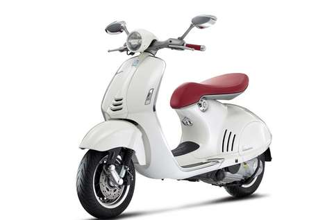 Modernized Italian Scooters - The Vespa 946 Pays Homage to History While Looking Towards the Future
