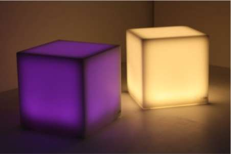 Intimate Tactile Illuminators - The Ledo Light Series Invites a Tangible Technological Experience