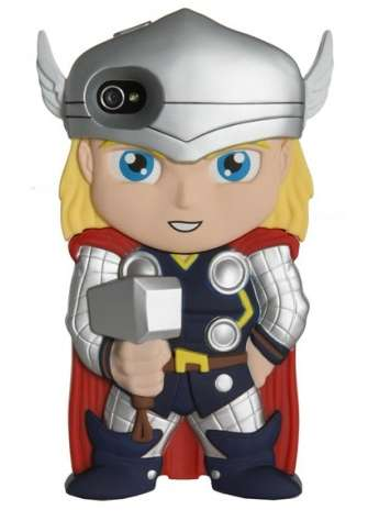 Helmeted Hero Tech Accessories - The Thor iPhone Case from Shop Jeen Celebrates the Comic Warrior