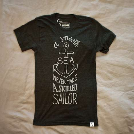 Motivating Seafarer T-Shirts - This Sailor T-Shirt Helps You Weather the Storm