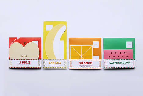 Fruit-Inspired Lettersets - Juicy Mail by Amazepaper Would Put a Smile on Anyone