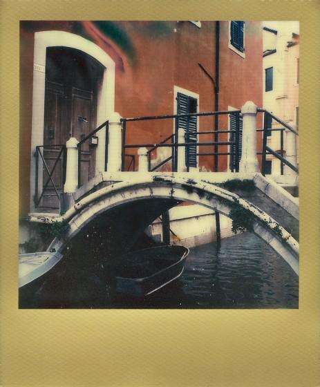 gold polaroid film
