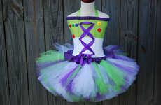 Space Cadet Tutu Ensembles - The Buzz Lightyear Tutu is Perfect for Your Little Toy Story Fan