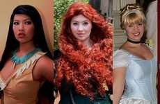 Obsessed Disney Princess Cosplayers - This Woman Made Her Own Authentic Princess Costumes