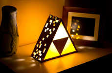 Awesomely Geeky Gamer Lamps