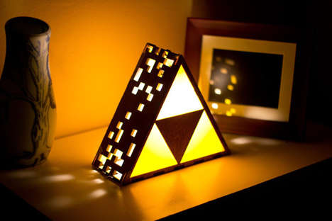 Awesomely Geeky Gamer Lamps - These Video Game Inspired Lamps Will Light Up Your Life
