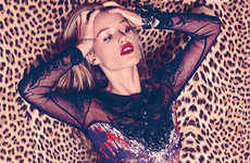 Sultry Animal Print Editorials