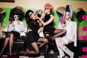 The 'Make Me Up' Editorial for Vogue is Beauty Scho