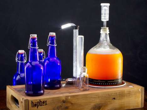 Handcrafted Beer Brewery Kits - The HopBox Home Brewing Kit is Perfect for Beer Lovers