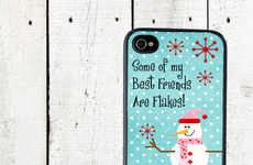 Funnily Festive Smartphone Cases