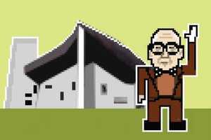 Federico Babina Illustrates World Famous Architects in 8-Bit