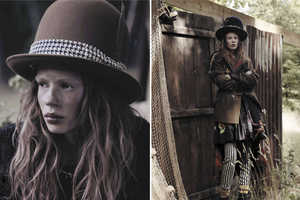 The Jalouse October 2013 Shoot Features Julia Zimmer in Hobo Chic Attire
