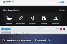 Playlist-Like Adult Film Selectors - This Service Helps Users Select Racy Video Playlists