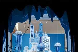 Hermès' Paper Window Display Revives the Sunken City of Atlanti