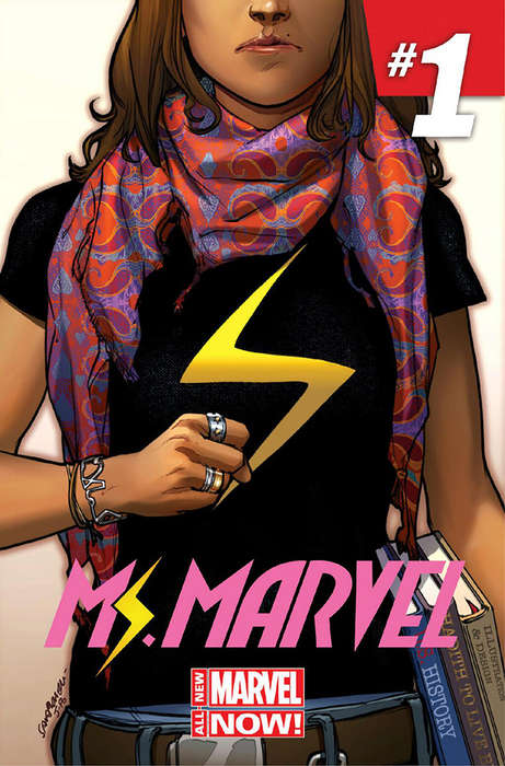 Culturally Diverse Superhero Comics - The Marvelous Muslim Superhero Breaks the Male Mold
