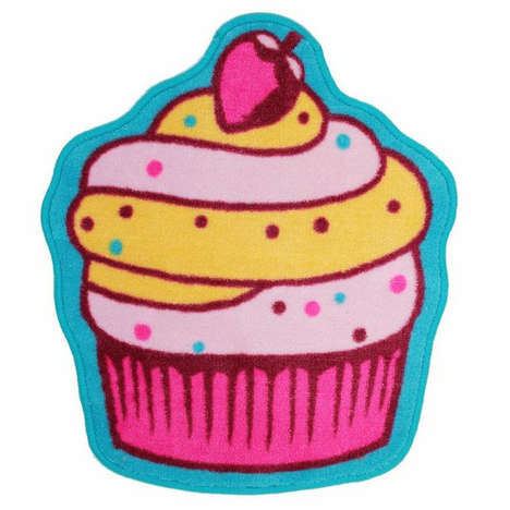 Carpet Confection Decor - The Cupcake Rug from Shopjeen Satisfies One