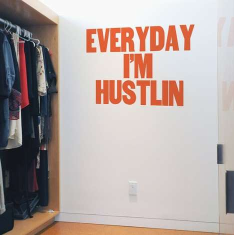 Rosy Rap Wall Decals - Rap Lyrics Give You Encouraging Messages in a Wall Decal Format