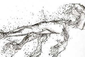 Paul Shanghai's Water Drawings Turn Graphite into Water