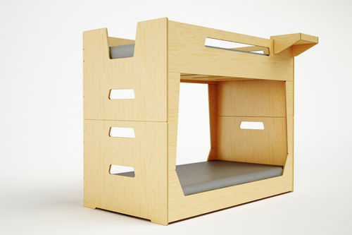 Boxy Stacking Beds