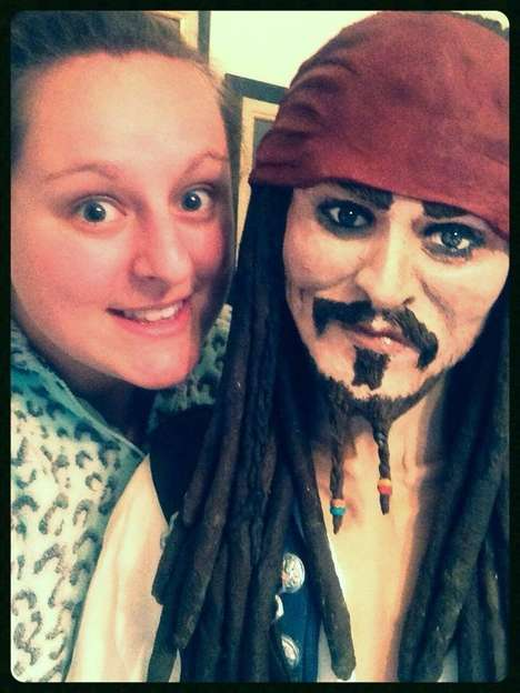 Life-Sized Celebrity Cakes - YouTube Tutorials Inspired This Girl to Make a Johnny Depp Cake