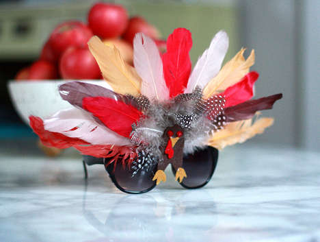 DIY Turkey Sunglasses