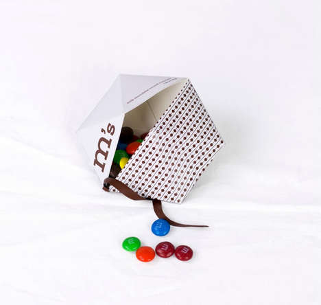 Minimalist Iconic Candy Rebranding - Alyssa Phillips Does a Complete Packaging Redesign for M&Ms