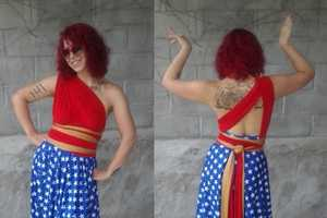 Conveniently Change Styles with These Convertible Comic Hero Gowns