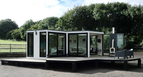 Modular Hexagonal Homes - Barry Jackson's HIVEHAUS is a Modular Housing Design Inspired by Bees