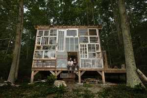 This Couple Spent Only $500 On a Do-It-Yourself Home Made of Glass