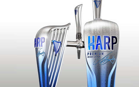 Harp Lager Packaging