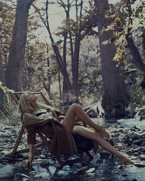 Untouched Surroundings Editorials - How to Spend It is Peaceful and Organic