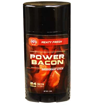 Powerful Pork Perfumes - The Power Bacon is a Deodorant for Those Who Love Bacon a Little Too Much