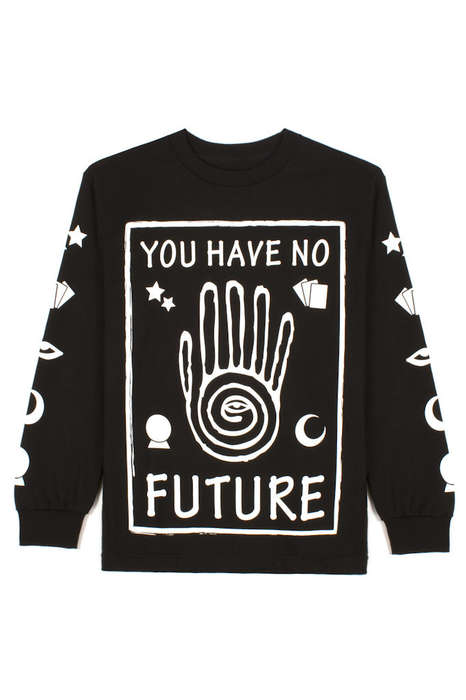 Snarky Psychic Sweatshirts - The Brand Rude Clothing Reveals Unkind Futures Through its Fashion