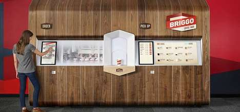 Barista-Replacing Vending Machines - Briggo's Coffee-Bots Replaces the Human Touch