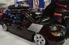 Souped-Up Suburbia Icons - The Bisimoto Honda Odyssey Packs 1,029 Horsepower