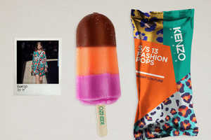 These Branded Popsicles by Lara Atkinson Celebrate Luxe Labels