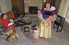 Depressing Disney Princess Photography - This Series Showcase the Sad Lives of Adult Princesses