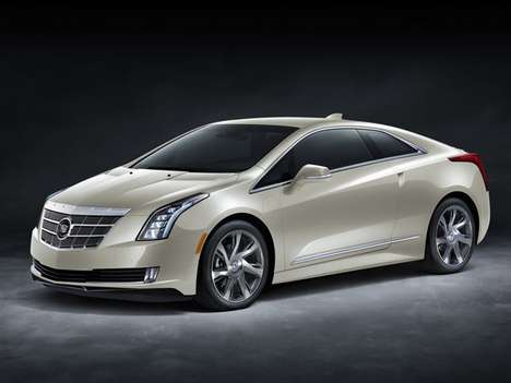 Upscale Shopping Coupes - The Cadillac ELR Saks Fifth Avenue is Perfect for Fashionistas