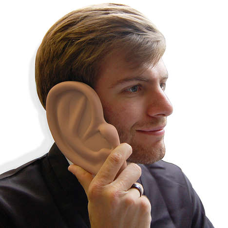 Oversized Ear Phone Covers - The Giant Ear iPhone Case is Perfect for Playful Techies