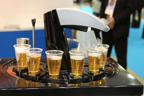 Robotic Beer Dispensers - Asahi
