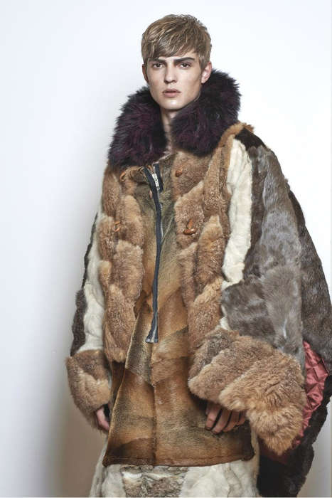 Nordic Couture Captures - The Human Ecdysis ODDA Magazine Editorial is Fur-Clad