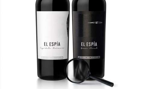 El Espia Wine Packaging