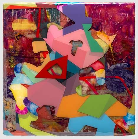 Multi-Dimensional Cubism Artworks - These Kent Michael Smith Paintings Embody and Abstract Concept