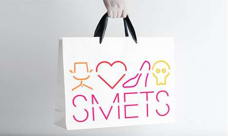 Broken Symbol Branding - Smets Packaging Outlines the Specialties of This Exciting Store