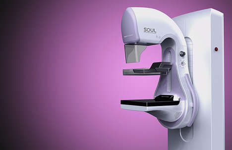 Comfortable Clinical Devices - SOUL Digital Mammography Makes Diagnostics A Touch Less Intolerable