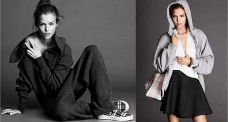 Casually Cozy Fashion - The ELLE Sweden November 2013 Editorial Stars a Sporty Josephine Skriver
