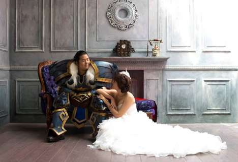 Fantasy Gamer Nuptials - This Couple Got Dressed up in Character for Their World of Warcraft Wedding